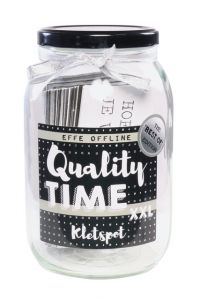 QUALITY TIME: Kletspot XXL!  Best-of edition